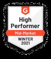 Medal high performer mid market winter 2021