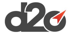 D2o logo