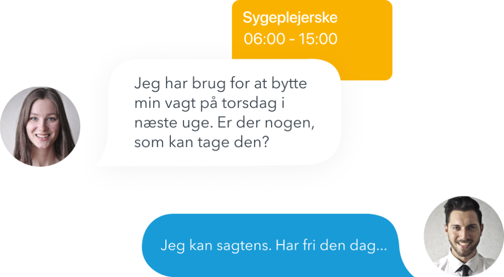 Chat messages