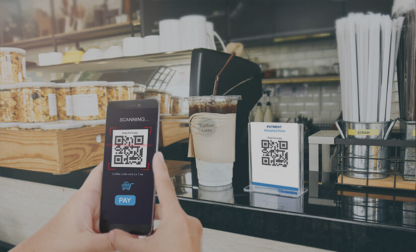 Paying with QR