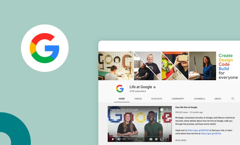 Google employee branding