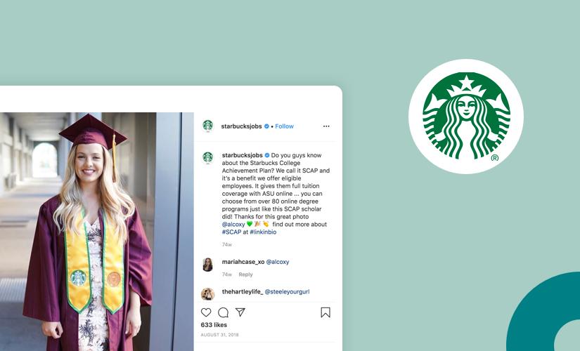 Starbucks employee branding
