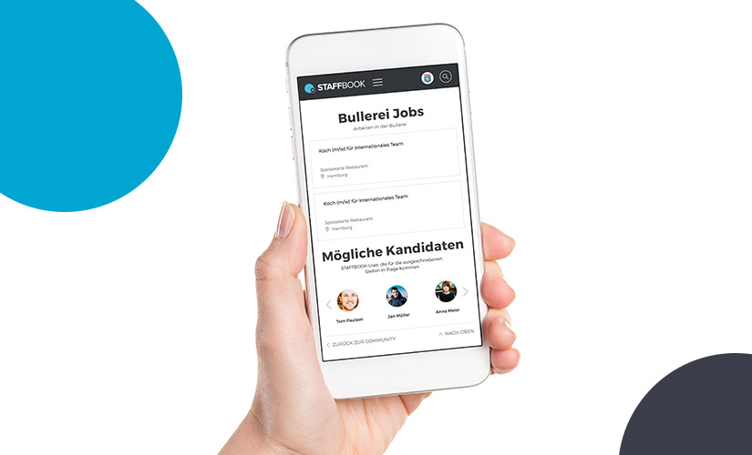 Staffbook app